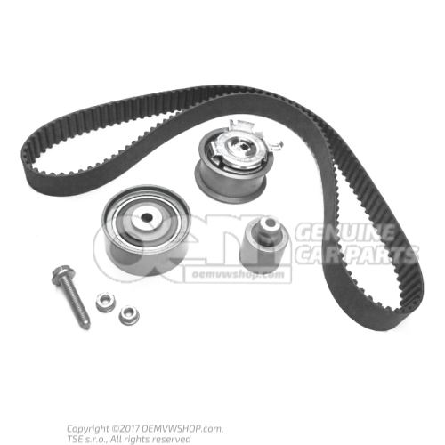 Repair kit for toothed belt 06F198119A