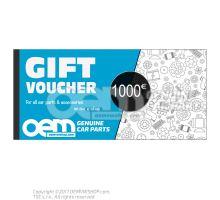 oemVWshop Carte cadeau - 100€