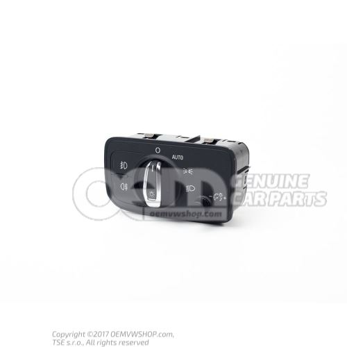 多控开关,用于停车 和行车灯 幽灵(黑色) 自动报废装置/新装置 8V0941531AE5PR