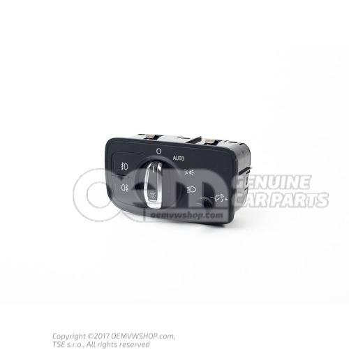 Multi-switch for side lights and driving lights soul (black) 8V0941531AE5PR