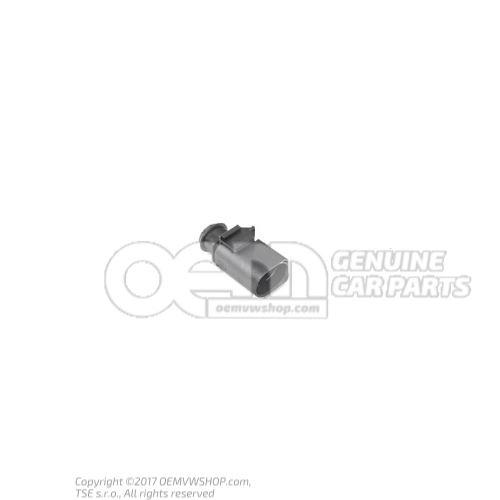 Boitier de connexion plat avec verrouil. par contact 3B0973813