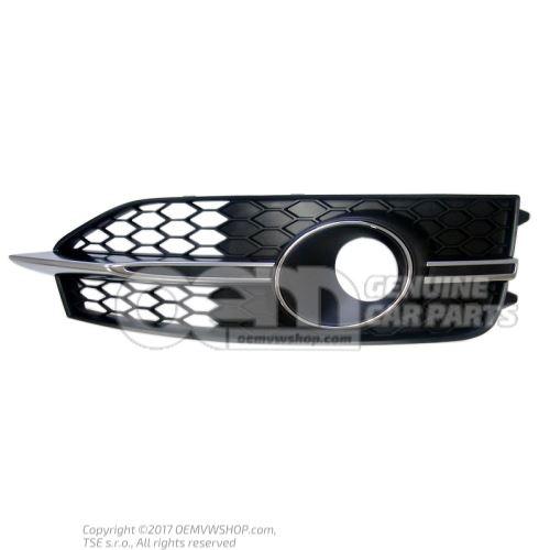 Решётка чёрный satinschwarz Audi A7 Sportback 4G 4G8807681E 9B9