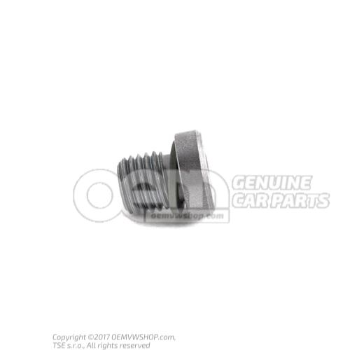 Seal bolt with sealing ring 01V409057A
