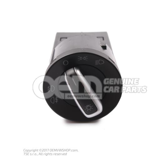 Combi-switch for day driving light 6R0941531G APV